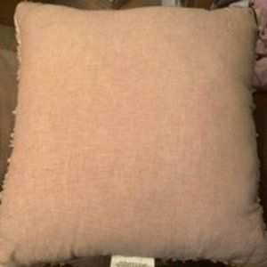 Raw Edge Cross Dyed Throw Pillows - Hearth & Hand